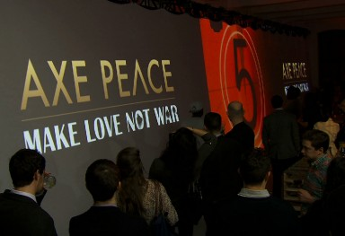 Axe Peace Product Launch
